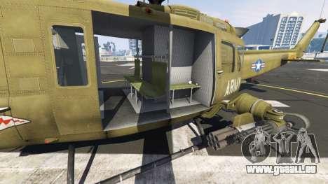 GTA 5 Bell UH-1D Iroquois Huey Gunship sechster Screenshot