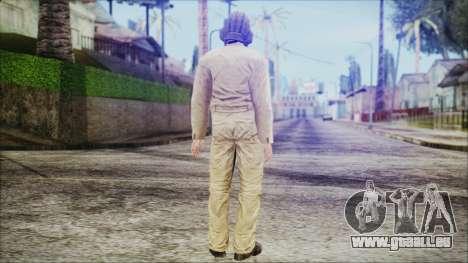 World In Conflict Tank Crewman für GTA San Andreas dritten Screenshot
