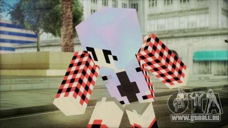 Minecraft Female Skin Edited pour GTA San Andreas