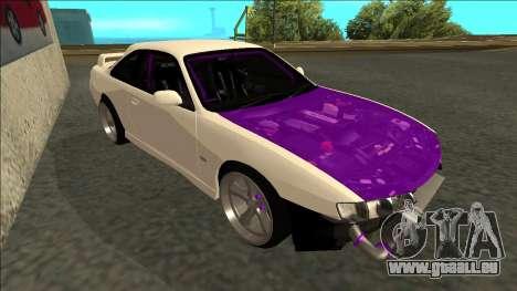 Nissan Silvia S14 Drift pour GTA San Andreas laissé vue