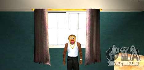 Maske Böse Prani v1 (Weihnachten 2016) für GTA San Andreas zweiten Screenshot