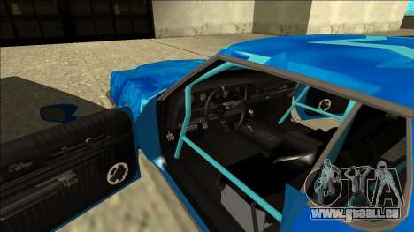 Ford Gran Torino Drift Blue Star für GTA San Andreas Innenansicht