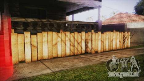Wooden Fences HQ 1.2 für GTA San Andreas dritten Screenshot