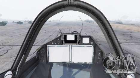 GTA 5 T-50 PAK FA v0.02 fünfter Screenshot