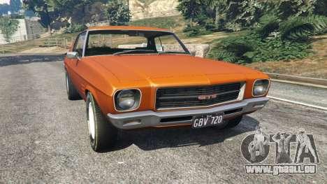 Holden Monaro GTS pour GTA 5