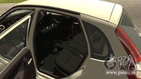 Lada Kalina 2 - Granta pour GTA San Andreas vue de droite