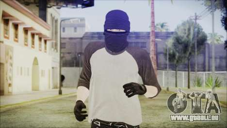GTA Online Skin 8 für GTA San Andreas