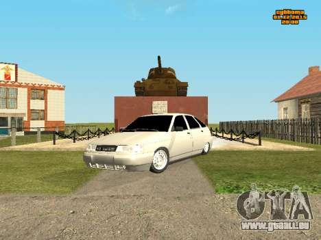 Les VASES 2112 Bunker 0.1 v pour GTA San Andreas laissé vue
