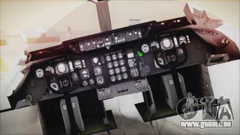 McDonnell-Douglas DC-10-30F World Airways pour GTA San Andreas vue arrière