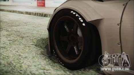 Toyota GT86 Rocket Bunny Tunable IVF für GTA San Andreas zurück linke Ansicht