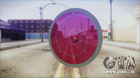 Steven Shield from Steven Universe pour GTA San Andreas deuxième écran