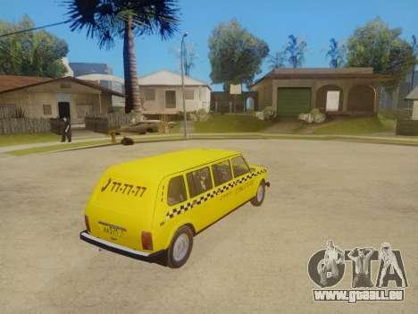VAZ 2131 7-Porte de Taxi pour GTA San Andreas vue intérieure