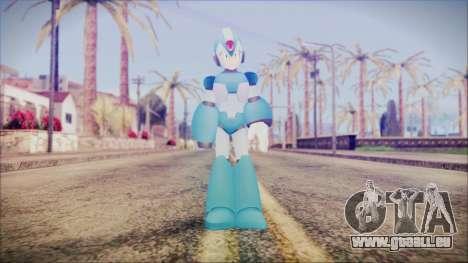 Marvel vs Capcom 3 Megaman pour GTA San Andreas deuxième écran