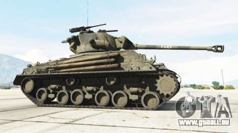 GTA 5 M4A3E8 Sherman Fury hinten rechts