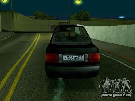 Audi 80 pour GTA San Andreas sur la vue arrière gauche