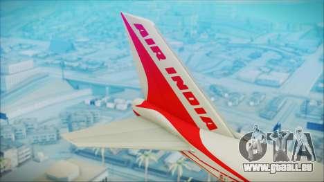 Boeing 747-237Bs Air India Himalaya für GTA San Andreas zurück linke Ansicht