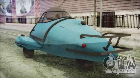 Fallout 4 Fusion Flea pour GTA San Andreas laissé vue