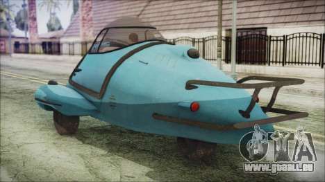 Fallout 4 Fusion Flea für GTA San Andreas linke Ansicht