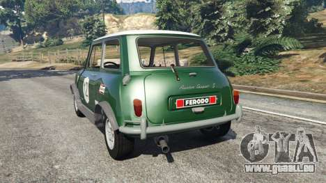 Mini Cooper S 1965 pour GTA 5