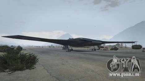 GTA 5 B-2A Spirit Stealth Bomber quatrième capture d'écran