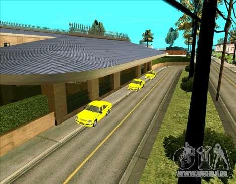 Parkende Fahrzeuge für GTA San Andreas zweiten Screenshot