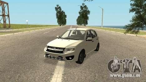 Lada Kalina 2 - Granta pour GTA San Andreas