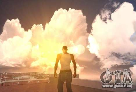 SkyBox and Lensflare pour GTA San Andreas