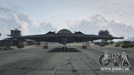GTA 5 B-2A Spirit Stealth Bomber deuxième capture d'écran