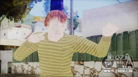 Ron Weasley pour GTA San Andreas