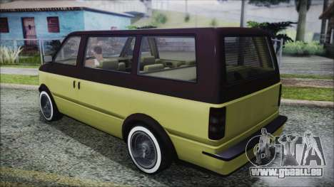 GTA 5 Declasse Moonbeam Custom für GTA San Andreas linke Ansicht