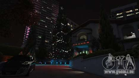 GTA 5 Décorations de noël pour la maison Michael