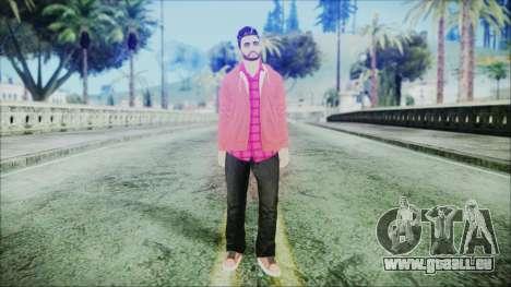 GTA Online Skin 26 pour GTA San Andreas deuxième écran