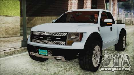 Ford F-150 SVT Raptor 2012 Stock Version pour GTA San Andreas