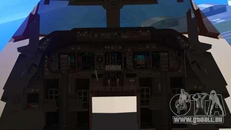 Boeing 747-300 Japan Airlines Resocha für GTA San Andreas rechten Ansicht