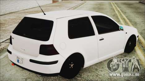 Volkswagen Golf 4 Romanian Edition für GTA San Andreas linke Ansicht