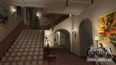 GTA 5 Décorations de noël pour la maison Michael septième capture d'écran