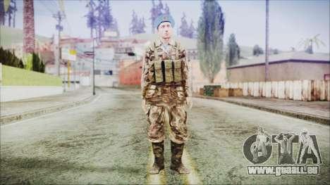 World In Conflict Malashenko pour GTA San Andreas deuxième écran