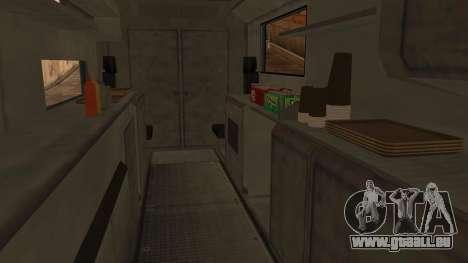 Sate Ayam (Chicken Satay) Van für GTA San Andreas rechten Ansicht