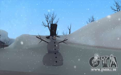 Winter Vacation 2.0 SA-MP Edition pour GTA San Andreas deuxième écran