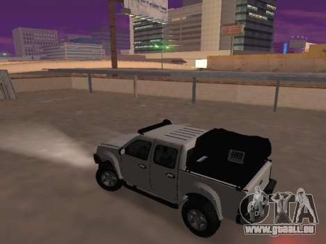 Chevrolet LUV D-MAX 2014 OffRoad (IVF) für GTA San Andreas linke Ansicht