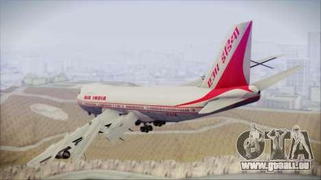 Boeing 747-237Bs Air India Mahendra Verman für GTA San Andreas linke Ansicht