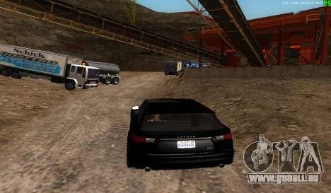 Il n'y a pas de meilleure façon pour GTA San Andreas quatrième écran