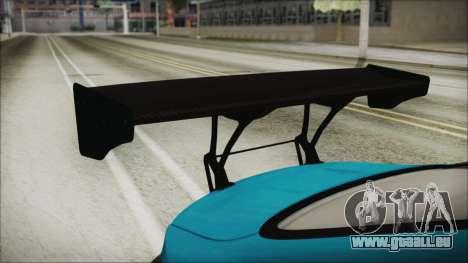 BMW M4 2014 Liberty Walk für GTA San Andreas Rückansicht