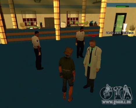 Gute Qualität bauen skins MES für GTA San Andreas her Screenshot
