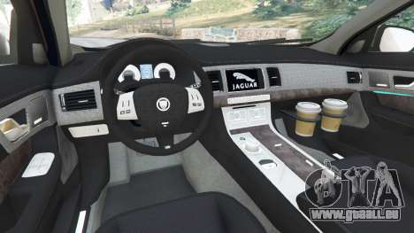 Jaguar XFR 2010 für GTA 5