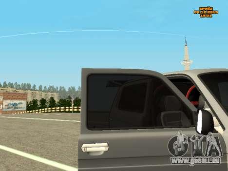 VAZ 2123 Niva automatique du Son pour GTA San Andreas vue de droite