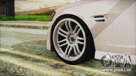 Chevrolet Lumina 2009 für GTA San Andreas zurück linke Ansicht
