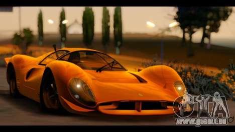 Summer Paradise v0.248 V2 pour GTA San Andreas deuxième écran