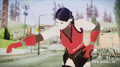 Tekken Tag Tournament 2 Zafina Dress v1 pour GTA San Andreas