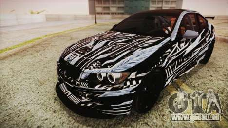 BMW M3 GTS 2011 IVF pour GTA San Andreas roue